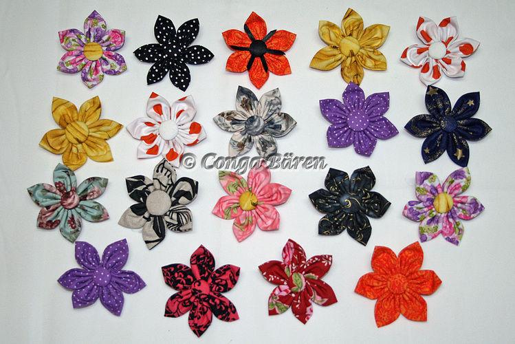Makerist - DIY - Stoffblume selbst gemacht - Nähprojekte - 2