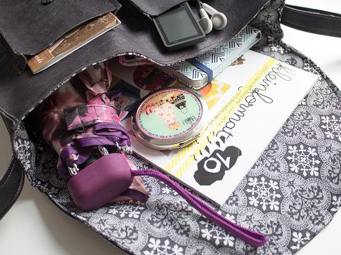 Makerist - Retrotasche aus Kork mit Innenfutter - Nähprojekte - 2