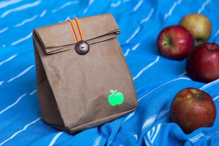 Makerist - Lunchbag: Apfeltüte - Nähprojekte - 1