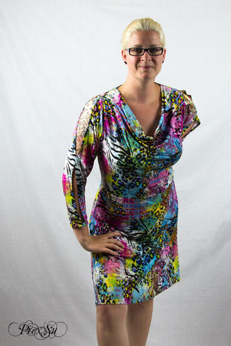 Makerist - Sunny als Kleid mit Wasserfallausschnitt - Nähprojekte - 3