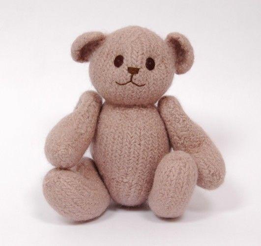 Makerist - Felted Teddy  - Knitting Showcase - 1