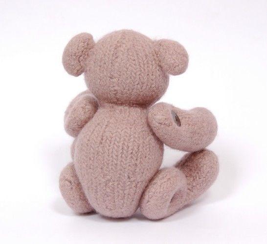 Makerist - Felted Teddy  - Knitting Showcase - 2