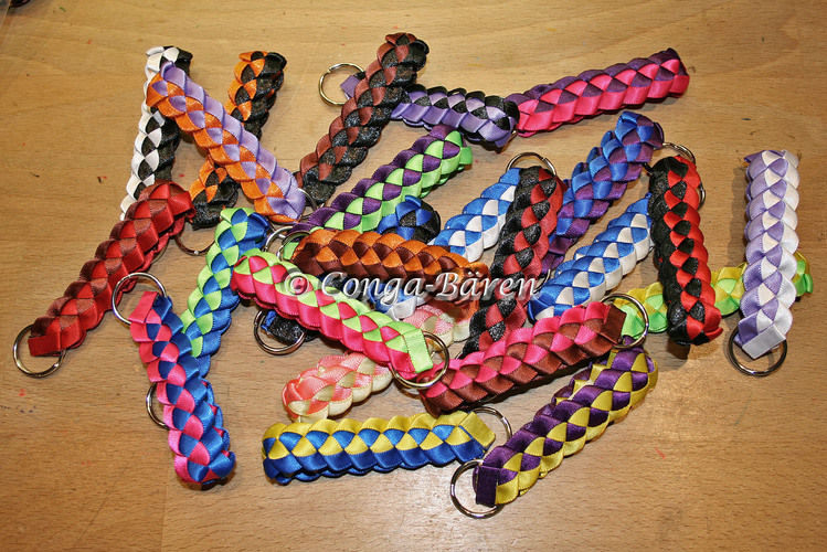 Makerist - DIY - Loopflechten Schlüsselanhänger, Haarreif, Ohrringe ... - DIY-Projekte - 2