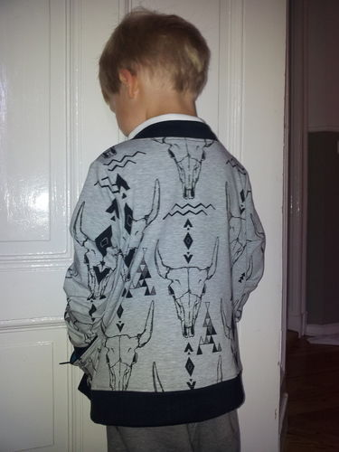 Makerist - coolit kleenit Jäckchen - Cardigan ROM - Nähprojekte - 2