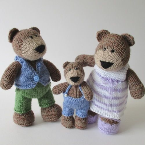 Makerist - The Three Bears - Knitting Showcase - 1