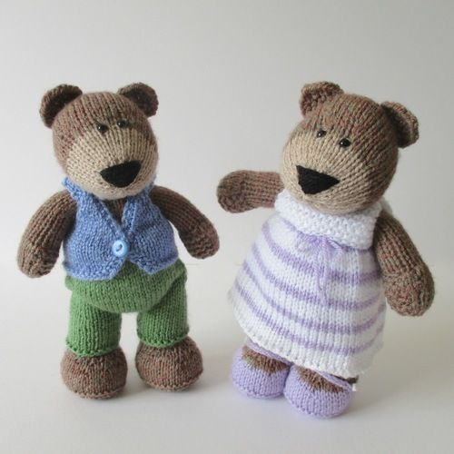 Makerist - The Three Bears - Knitting Showcase - 3