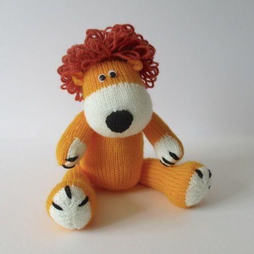 Makerist - Samson the Lion - Knitting Showcase - 1