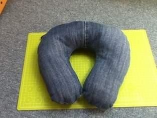 Makerist - Nackenhörnchen aus alter Jeans. - 1