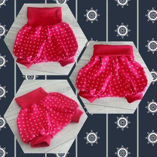 Makerist - kurze Pumphose Büxle aus Baumwolljersey für die Nichte - Nähprojekte - 1