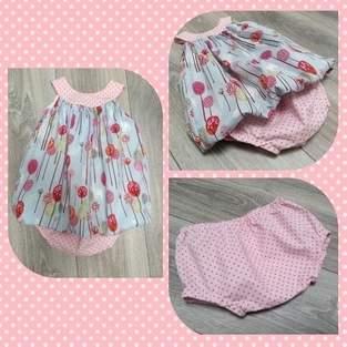 Makerist - Ballonkleid für die Nichte mit Schlössern und Bäumchen - ein Prinzessinnentraum - 1