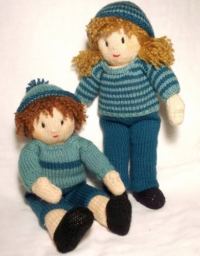 Makerist - Jesse and Josie dolls  - Knitting Showcase - 1