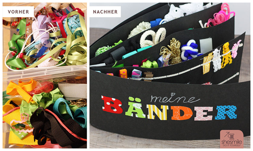 Makerist - Bändermappe aus SnapPap - Nähprojekte - 3