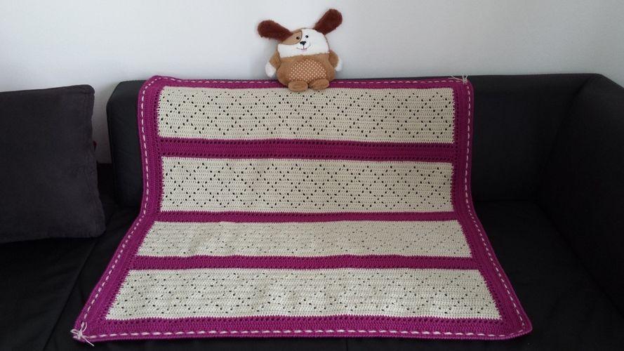 Makerist - Lazy Daisy Blanket - Häkelprojekte - 1