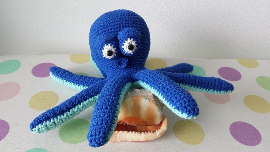 Makerist - Octavius the octopus - Häkelprojekte - 1
