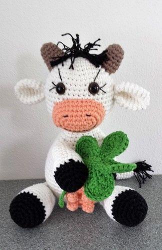 Makerist - Kleine Kuh Elsa - Häkelprojekte - 1