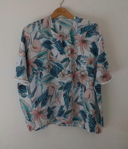 Makerist - Blouse imprimé fleurs pastel  - Créations de couture - 1