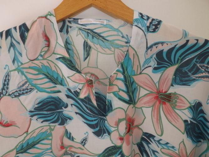 Makerist - Blouse imprimé fleurs pastel  - Créations de couture - 2