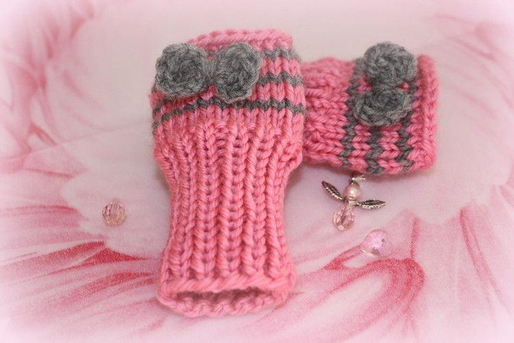 Makerist - ... Für warme Händchen .... - Strickprojekte - 1