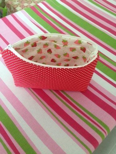 Makerist - Erdbeertäschchen - Nähprojekte - 2
