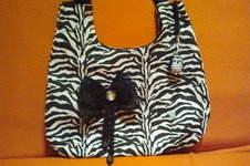 Makerist - Tasche in schwarz/weiß - 1