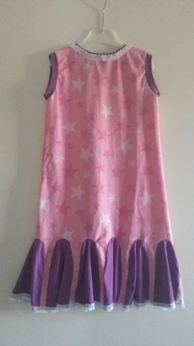 Makerist - Minitoppi Kleidchen mit Spitze - Nähprojekte - 1