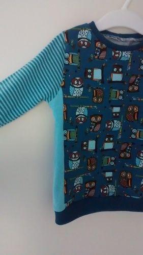 Makerist - Eulen Shirt mit Teilung - Nähprojekte - 2