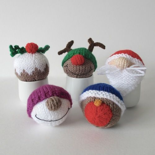 Makerist - Christmas Baubles - Knitting Showcase - 1