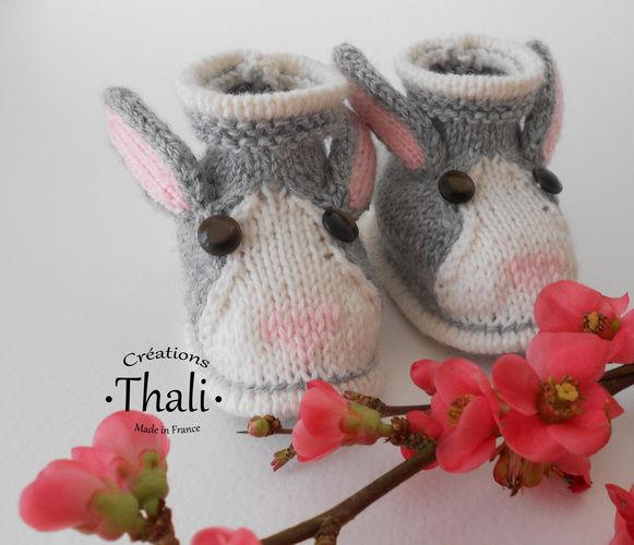 Makerist - Chaussons lapin, pour bébé - Créations de tricot - 2