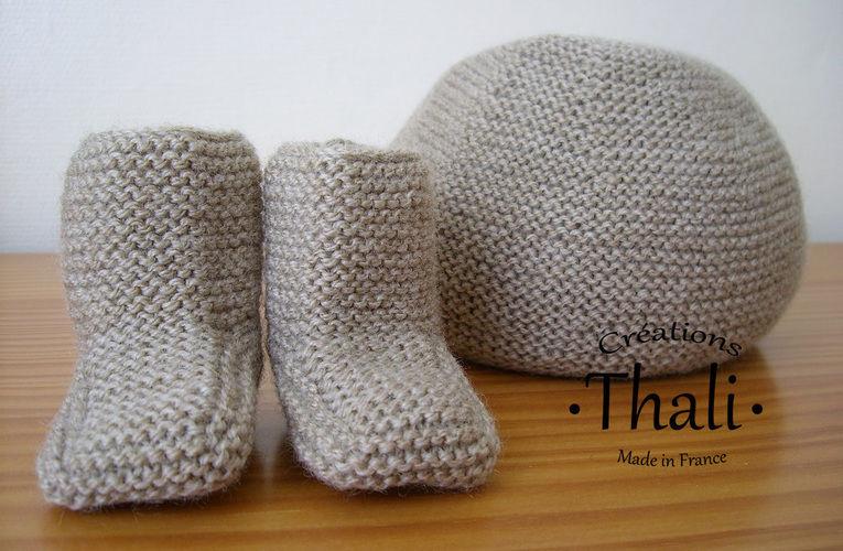 Makerist - Bonnet au point mousse, pour bébé - Créations de tricot - 2