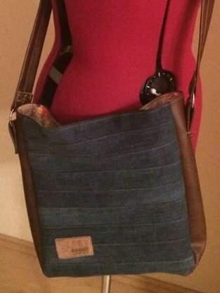 alte Jeans = neue Tasche