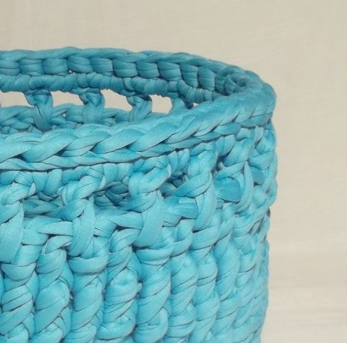 Makerist - Tidy Up basket - Crochet Showcase - 2
