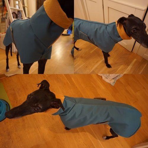 Makerist - Regenmantel für Windhunde - Nähprojekte - 1