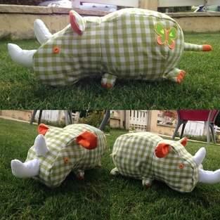 Makerist - Monsieur Rhinocéros  - 1