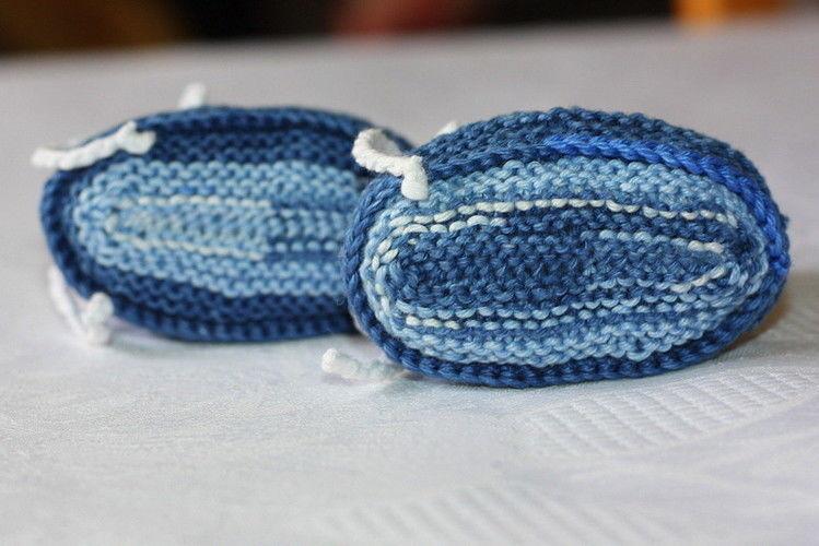 Makerist - kleine Booties - Strickprojekte - 2