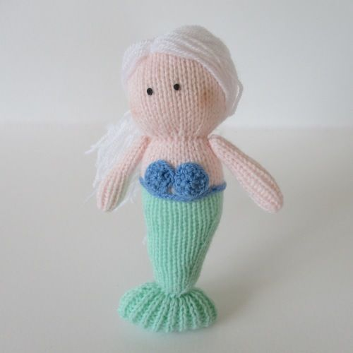 Makerist - Marina the Mermaid - Knitting Showcase - 1