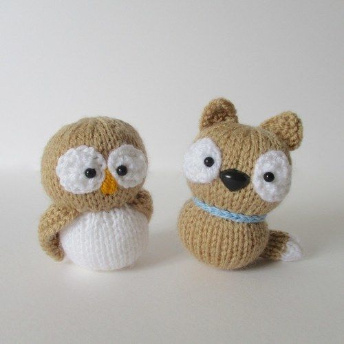 Makerist - The Owl and the Pussycat - Knitting Showcase - 1