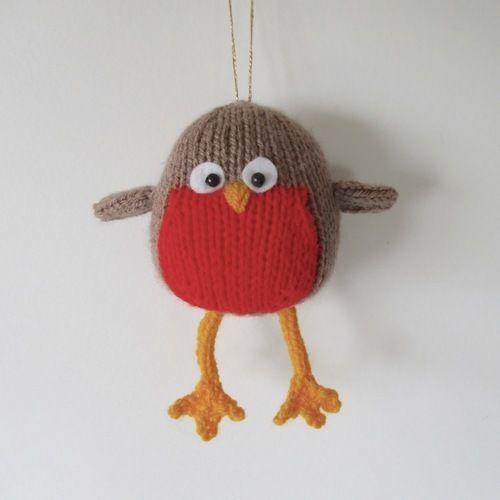 Makerist - Jolly Robin - Knitting Showcase - 1