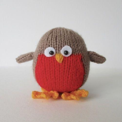 Makerist - Jolly Robin - Knitting Showcase - 2