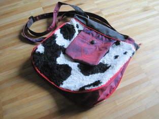 Makerist - Kuhfell-Tasche mit Vergrößerungseffekt - 1