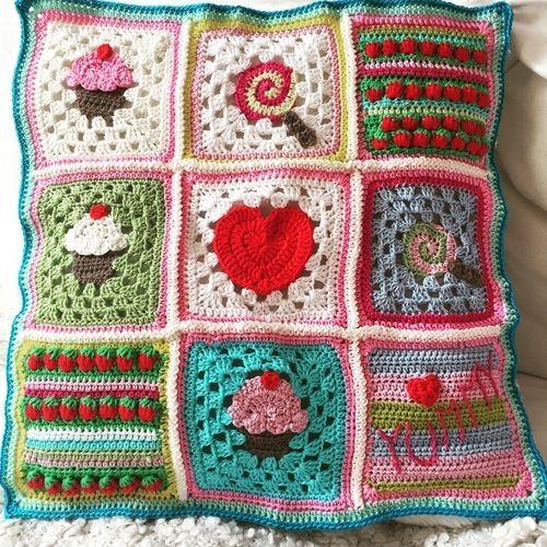 Makerist - Sweet Pillow - Häkelprojekte - 1