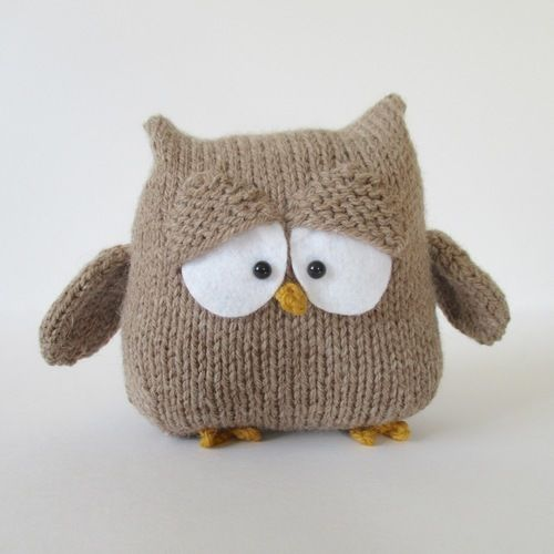 Makerist - Oscar the Owl - Knitting Showcase - 1