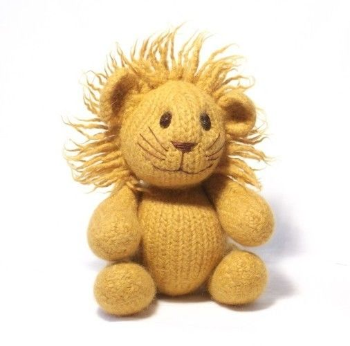 Makerist - Felt Lion - Knitting Showcase - 2