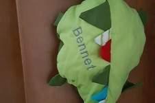 Makerist - Super süßer Drache...Von von lange Hand...aus Baumwollstoff für meinen Sohn - 1