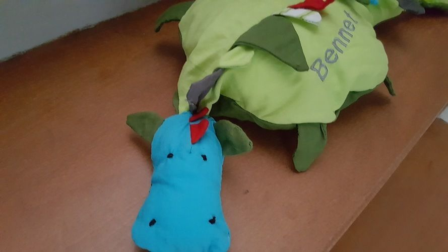 Makerist - Super süßer Drache...Von von lange Hand...aus Baumwollstoff für meinen Sohn - Nähprojekte - 2
