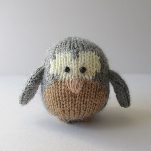 Makerist - Cricklewood Owl - Knitting Showcase - 1