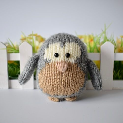 Makerist - Cricklewood Owl - Knitting Showcase - 2
