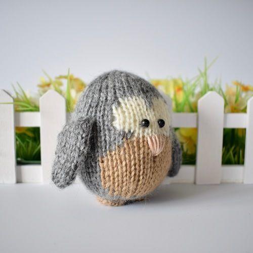 Makerist - Cricklewood Owl - Knitting Showcase - 3