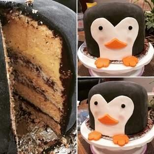 Makerist - Pinguin Torte - 1