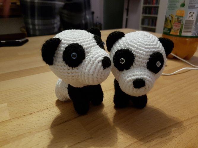 Makerist - Pandababy-Zwillinge - Häkelprojekte - 1