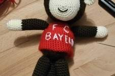 Makerist - FCB-Fan-Äffchen - 1